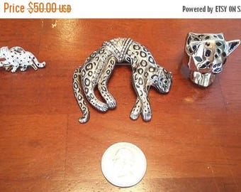 35% Off One Cat Pin; One Cat Brooch; One Cat Ring