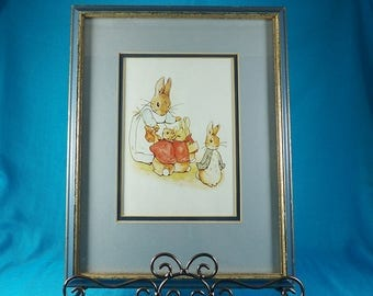Beatrix Potter Nursery Art Print