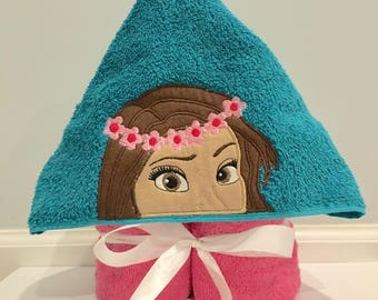 Moana Hooded Towel