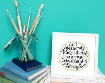 God is within her: Psalm 46 Print
