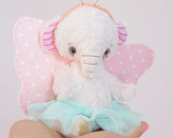 Butterfly teddy elephant