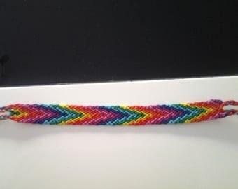 Arrow rainbow Friendship Bracelet