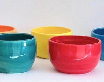 Handmade Clay Bowls As Seen In HGTV Magazine