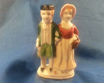 """Vintage; One Man and Woman """"OCCUPIED JAPAN"""" Figurine."""