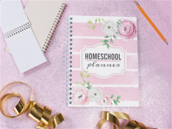 UNDATED Homeschool Planner | Teacher Planner | Weekly Planner | Planner Pages | Monthly Planner | Student Planner | Monday to Friday Planner