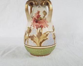 Turn Teplitz RStK Amphora Vintage Art Nouveau Vase