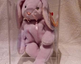 Ty beanie babies FLOPPITY the bunny rabbit, ERRORS, 1996, PVC