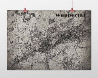 Wuppertal - A4 / A3 - print - OldSchool
