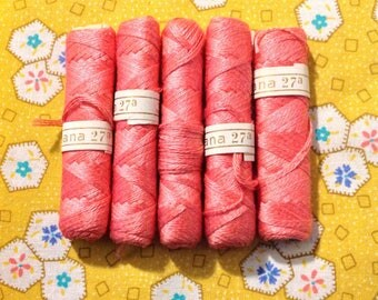 Lot of 5 Persiana 27a Vintage Thread