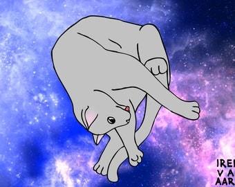 KIT CAT INTERGALACTIC 1.0 Print
