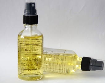 "Massage & Body | Massage body Oil ""warm-refreshing"""