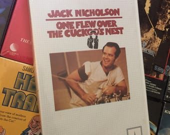 FACTORY SEALED VHS One Flew Over The Cuckoo's Nest (1975) Thorn Emi Clam Jack Nicholson