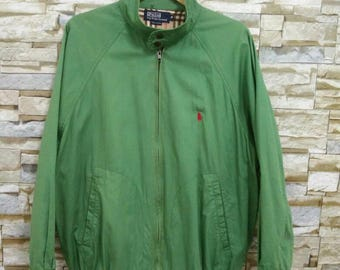 MEGA SALE Vintage Polo Jacket Polo Ralph Lauren Medium