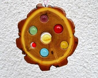 Sun catcher 13 cm-Robinie