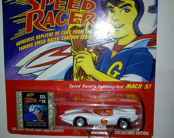 NEW Speed Racer Mach 5 New On Card