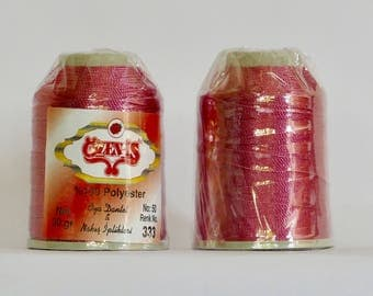 oya Turkish lace crochet polyester no50 thread color 333 Özen Is haakgaren for needle no 21 / 0,55 - 20 gr