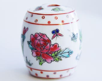 Miniature Porcelain Ginger Jar