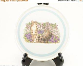 FLASH SALE Cat Pimpernel Melamine Trivet/Hot Plate