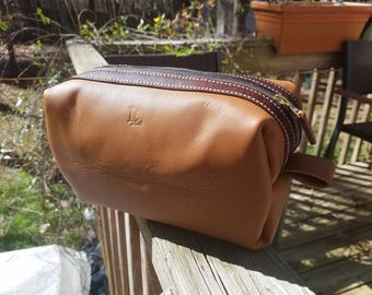 Dopp kit travel bag