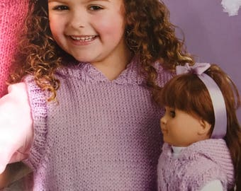 Matching Knits for Girls and Dolls