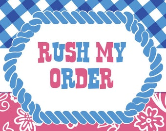RUSH MY ORDER - File Delivery within 24 hrs (Invitation Only)