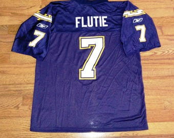 Vintage Mens NFL San Diego Chargers Doug Flutie football jersey