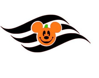 Disney Cruise Line Inspired Haloween Decal