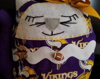 Minnesota Vikings cat