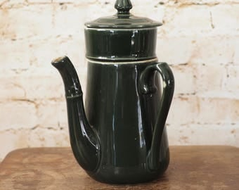 Vintage French Side Handle Coffee Pot