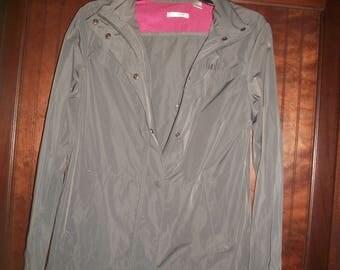 Vintage 90s Liz Golf Gray Winbreaker, Golf Jacket Size M
