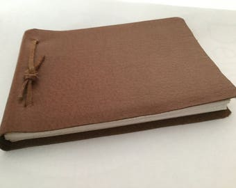 Fake leather A6 Journal
