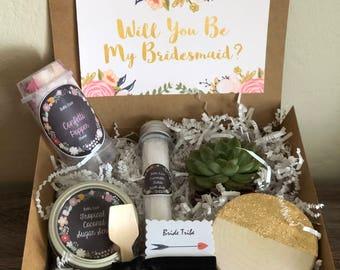 Bridesmaid proposal box, 1 DIY proposal kit bridesmaid proposal  DIY kit, bridesmaids, bridesmaids gift, maid of honor, thank you gifts