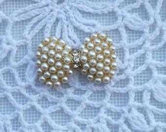 1 pcs pearl bow