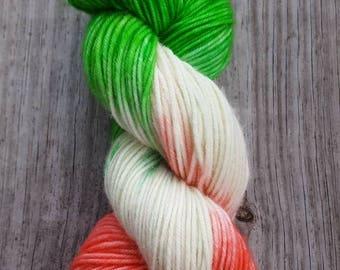 """Hand-Dyed Superwash Merino Yarn - """"Bree Randall"""""""