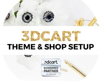 3dcart Theme & Shop Setup | 3dcart Design | 3dcart Template