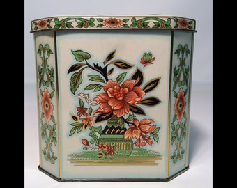 Vintage Daher Tea Tin