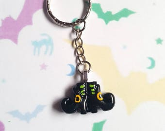 Witch boots keyring, Witch keyring, Halloween keyring, Witch boots, Witch, Witch stockings, Halloween, Horror, Goth, Alternative, Emo, Punk