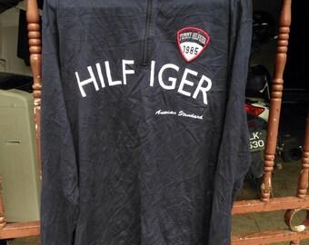 Vintage Tommy Hilfiger Half Zipper Shirt