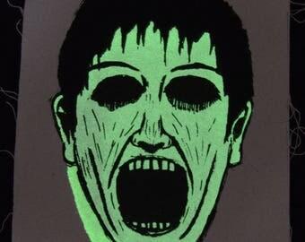 Glow-In-The-Dark Ghoul Patch MISPRINT