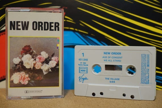 Power, Corruption & Lies (RARE French Pressing) by New Order Vintage Cassette Tape