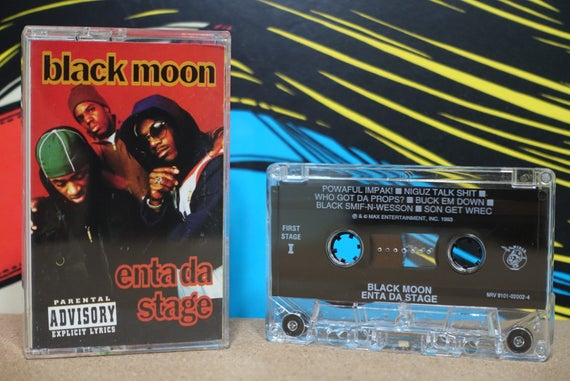 Enta Da Stage by Black Moon Vintage Cassette Tape