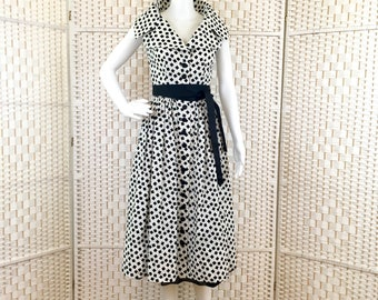 Adele Simpson Vintage Cotton Dress