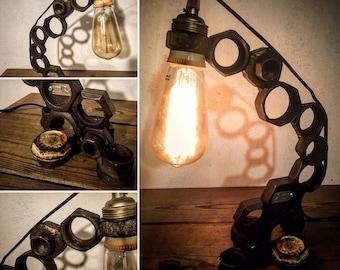 The nuts by lampesoriginales .com metal lamp nuts