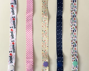 Pacifier holder*soother clip*dummy clip* cloth clip*funny pacifier holders