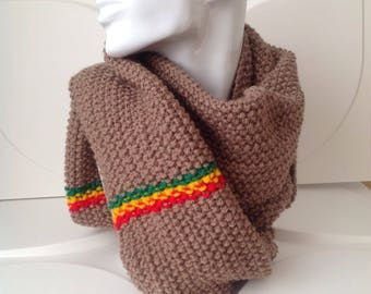 Winter Hand Knitted Scarf
