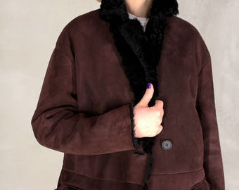 Shearling coat GagaRo1