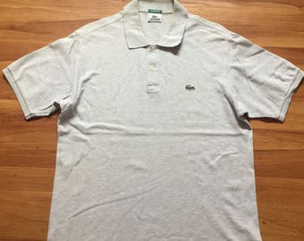 vintage 90s LACOSTE  polo shirts / size 4 Tommy Hilfiger / Ralph Lauren / Polo Sports