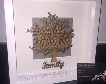 Personalised Pet Family Tree
