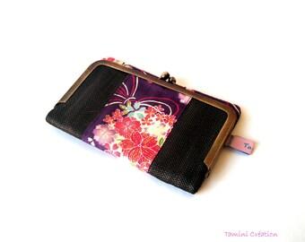 Porte monnaie rétro portefeuille porte-carte pour femme Akina