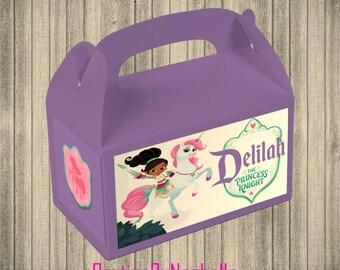 Nella the Princess Knight Favor Boxes